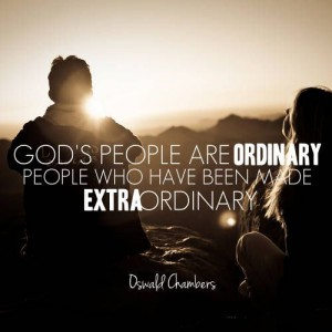 God uses ordinary